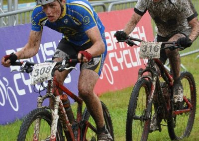 Mike Thompson MTB cyclist has improved with help from Velo Coaching