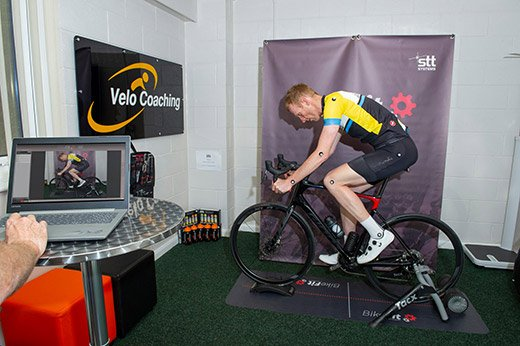 Velo Coaching offer cycle profiling at their Driffield studio