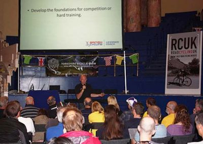 Velo Coaching offer Commercial Seminars on Cycling