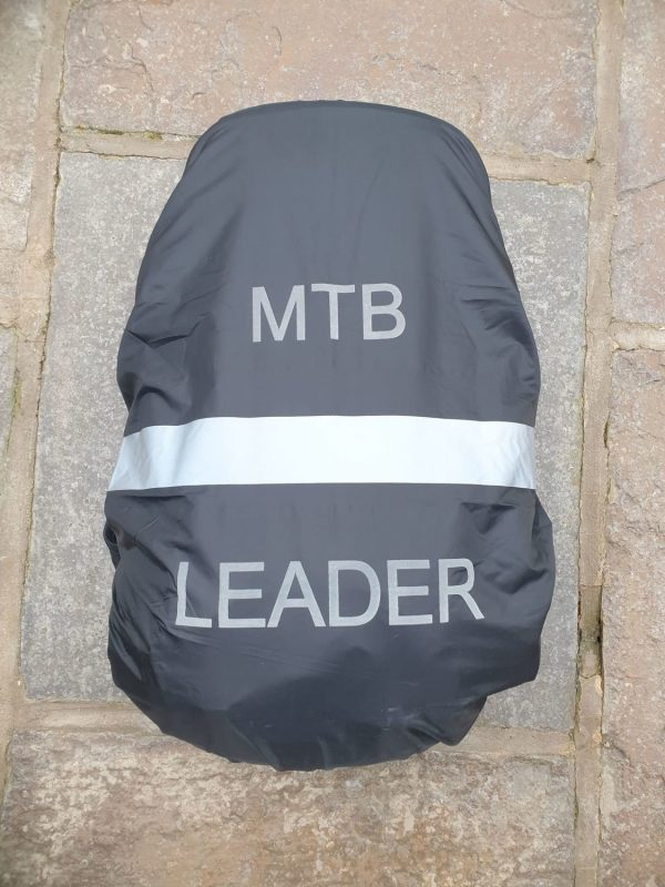 Water Resistant MTB Leaders Rucksack Cover Black