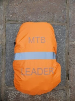 Water Resistant MTB Leaders Rucksack Cover Orange